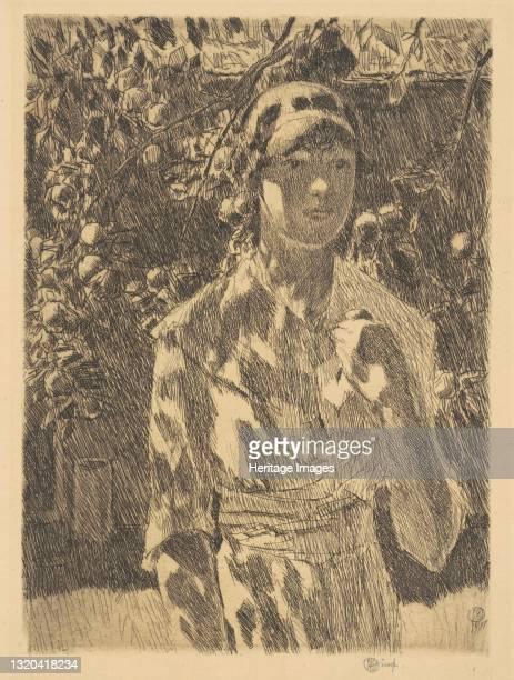 Helen Burke, 1917. Artist Frederick Childe Hassam.