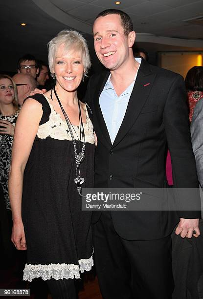 Helen Chamberlain and Max Rushden attend Charity Screening of 'A Bit Of Tom Jones' on January 25 2010 in London England