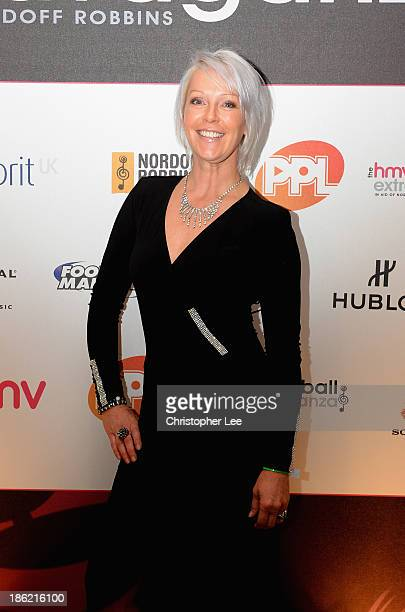 Helen Chamberlain during the Football Extravaganza at the Grosvenor House Hotel on October 29 2013 in London England