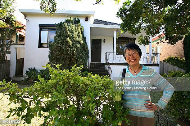 Helen Chung has just bought a house in Chatswood, for which she paid 17 percent less than it sold for in 2002, 25 August 2006. SMH Picture by ROBERT...