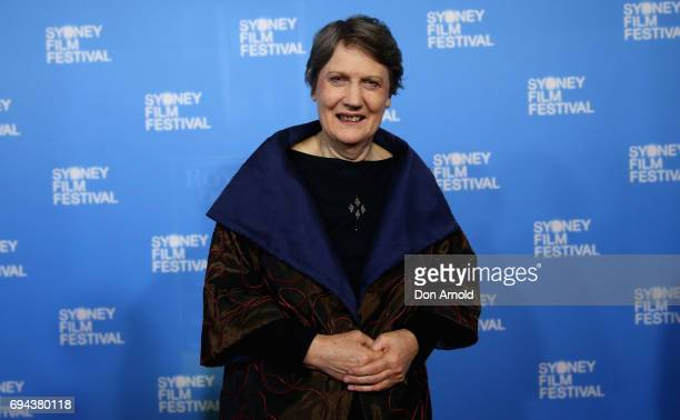 Helen Clark arrives ahead of the world premiere of 'My Year With Helen' during the Sydney Film Festival at State Theatre on June 10 2017 in Sydney...
