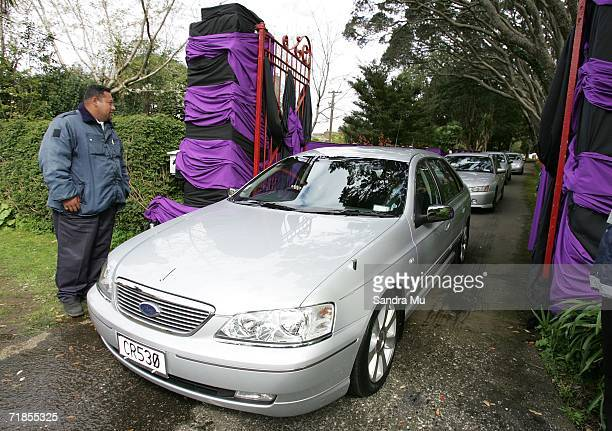 Helen Clark, New Zealand Prime Minister, leaves the Kings premises after paying her respects to the Late King of Tonga, Taufa'ahau Tupou IV in Epson,...
