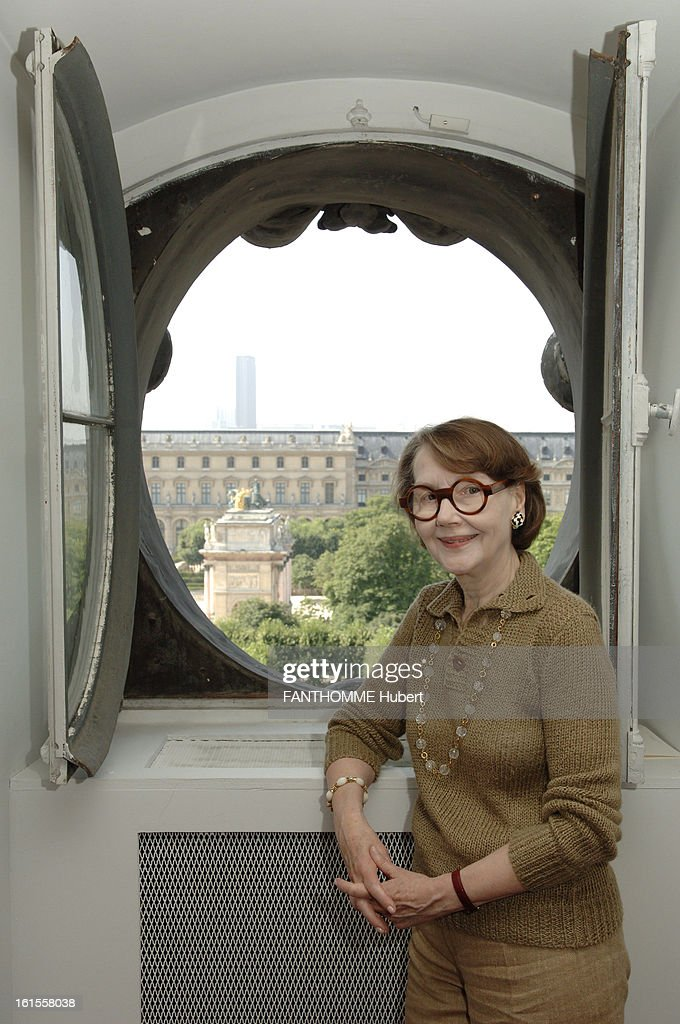 Helen David Weill President Of The Museum Of Decorative Arts In