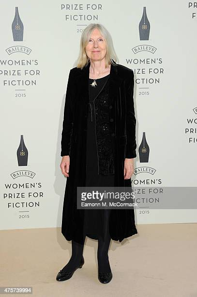Helen Dunmore arrives to celebrate the 2015 Baileys Women's Prize for Fiction at London's Royal Festival Hall on Wednesday 3 June 2015 in London...