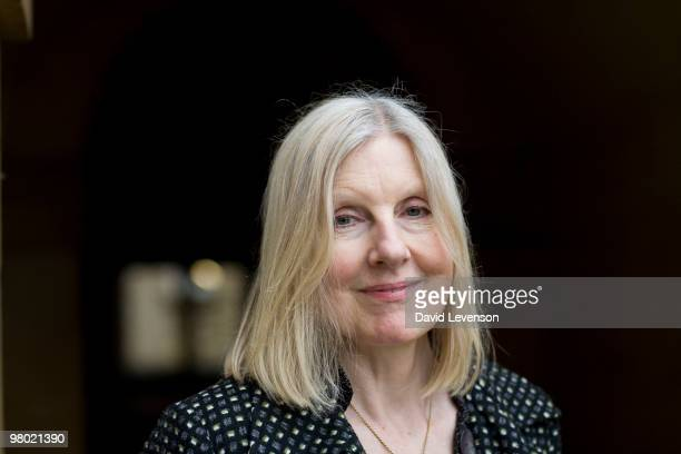 Helen Dunmore Author poses for a portrait at the Oxford Literary Festival in Christ Church on March 24 2010 in Oxford England