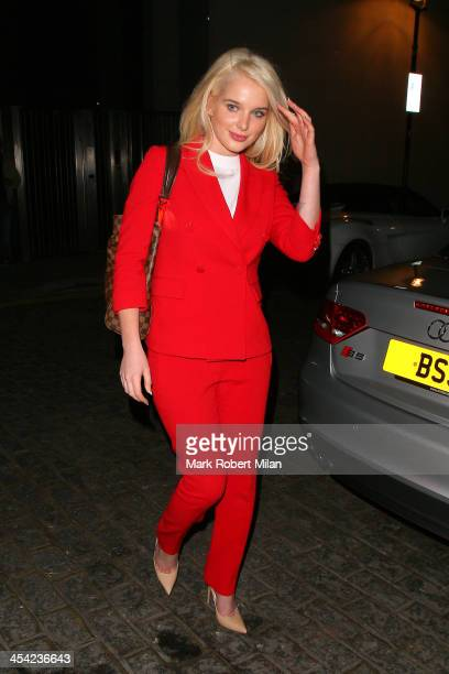 Helen Flanagan at Zuma restaurant on December 7 2013 in London England
