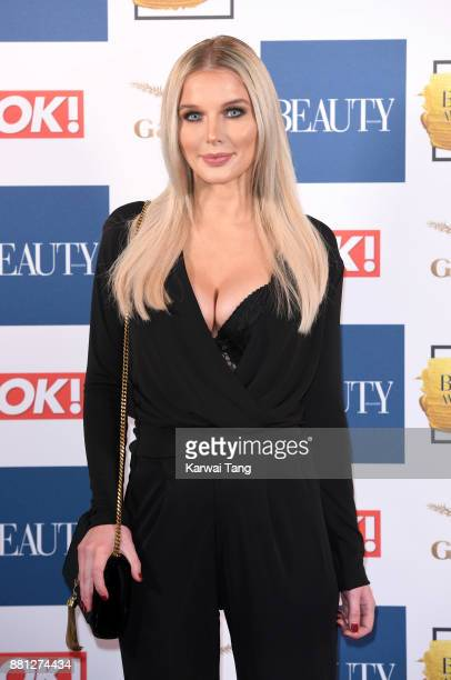 Helen Flanagan attends The Beauty Awards at Tower of London on November 28 2017 in London England