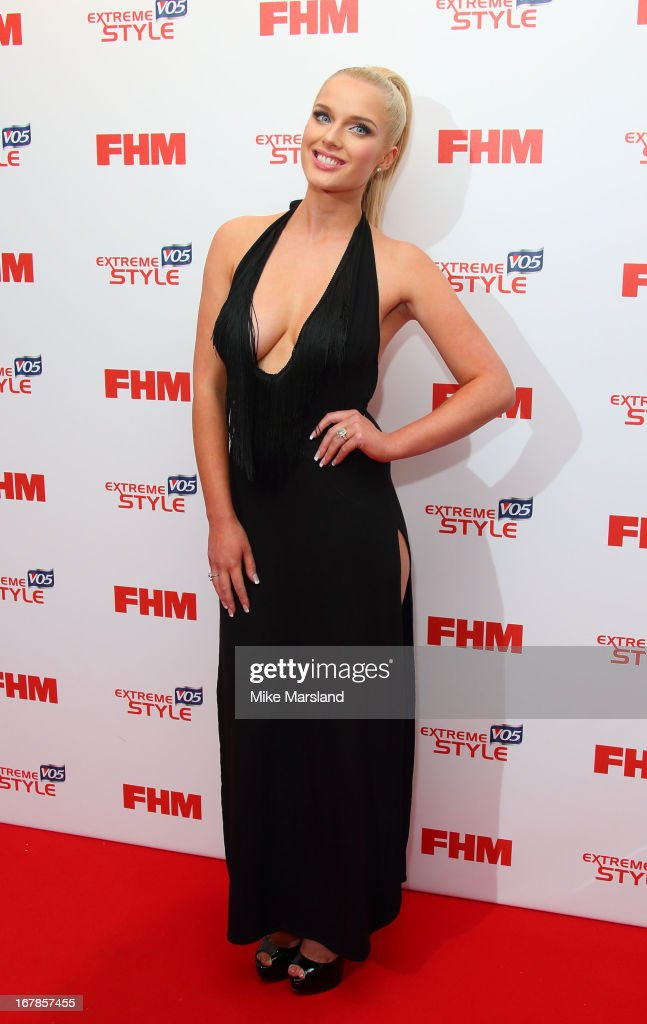 Helen Flanagan attends the FHM 100 Sexiest Women In The World 2013 party at Sanderson Hotel on May 1, 2013 in London, England.