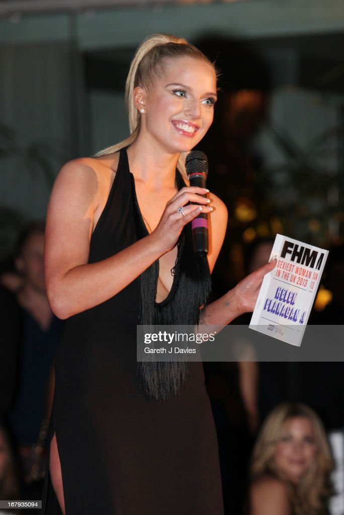 Helen Flanagan attends The FHM 100 Sexiest Women In The World 2013 Launch Party at the Sanderson Hotel on May 1, 2013 in London, England.