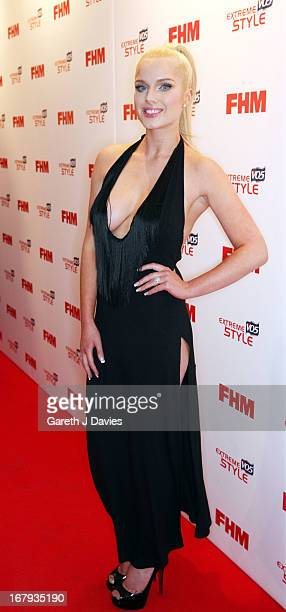 Helen Flanagan attends The FHM 100 Sexiest Women In The World 2013 Launch Party at the Sanderson Hotel on May 1 2013 in London England