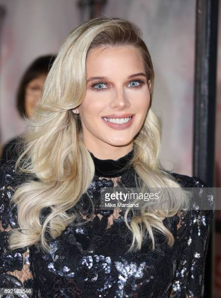 Helen Flanagan attends The Sun Military Awards at Banqueting House on December 13 2017 in London England