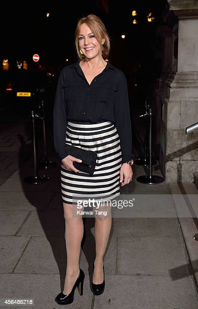 Helen Fospero attends a celebration of Lorraine Kelly's 30 years in breakfast television at Langham Hotel on October 1 2014 in London England