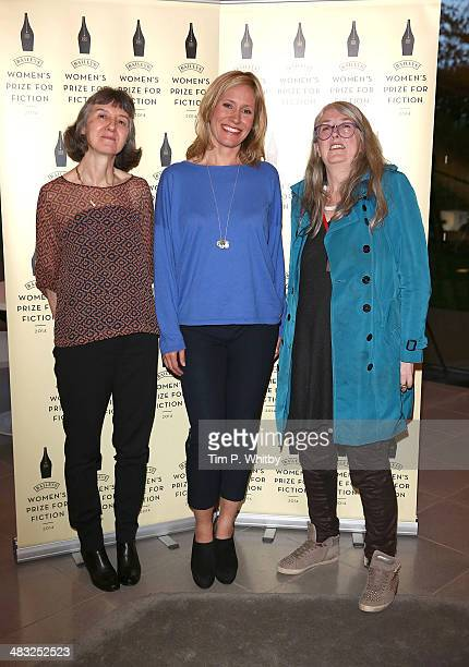 Helen Fraser Sophie Raworth and Mary Beard attend the Baileys Women's Prize for Fiction Short List Announcement at The Magazine at The Serpentine...