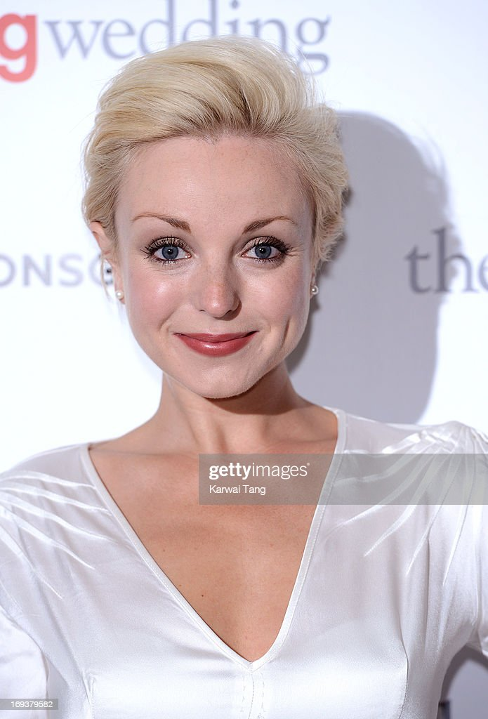 Helen George attends a special screening of 'The Big Wedding' at May Fair Hotel on May 23, 2013 in London, England.