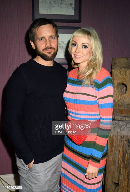 Helen George attends the after show party following the opening night of Only Fools and Horses The Musical at Theatre Royal Haymarket on February 19...