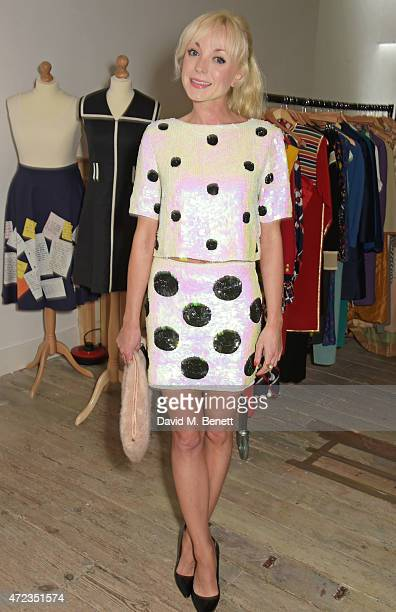 Helen George attends the BOB by Dawn O'Porter popup boutique launch party in Covent Garden on May 6 2015 in London England