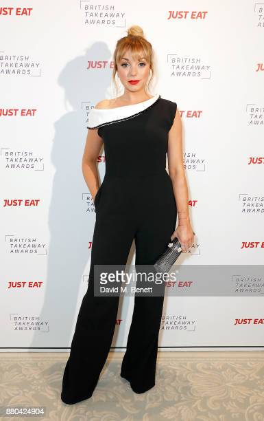 Helen George attends the British Takeaways Awards in association with Just Eat at The Savoy Hotel on November 27 2017 in London England The awards...