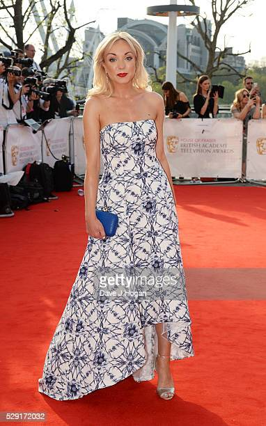 Helen George attends the House Of Fraser British Academy Television Awards 2016 at the Royal Festival Hall on May 8 2016 in London England