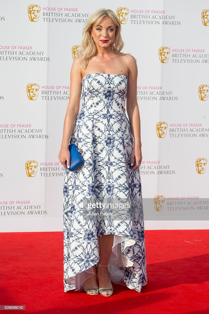 Helen George attends the House Of Fraser British Academy Television Awards 2016 at the Royal Festival Hall on May 8, 2016 in London, England. .