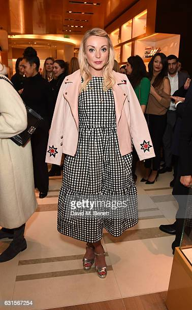Helen George attends the Louis Vuitton UNICEF #MakeAPromise Day event at the Louis Vuitton New Bond Street store on January 12 2017 in London England