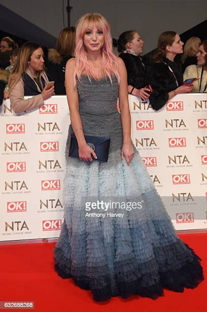 Helen George attends the National Television Awards on January 25 2017 in London United Kingdom