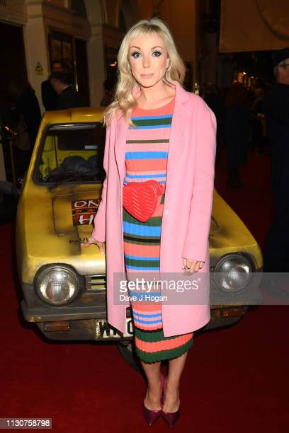 Helen George attends the opening night of Only Fools and Horses The Musical at Theatre Royal Haymarket on February 19 2019 in London England