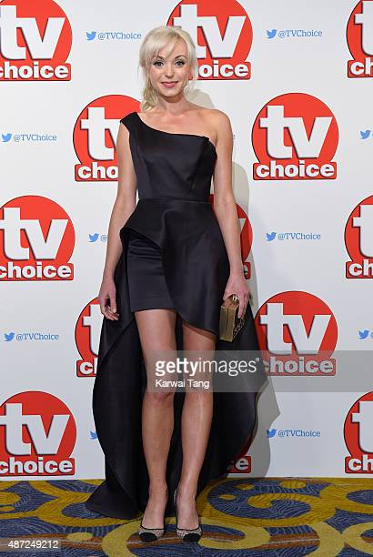 Helen George attends the TV Choice Awards 2015 at Hilton Park Lane on September 7 2015 in London England