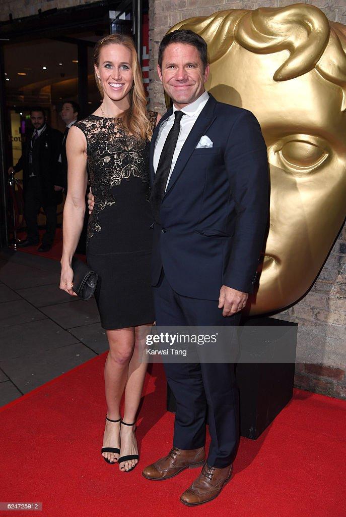 Helen Glover and Steve Backshall attend the BAFTA Children's Awards at The Roundhouse on November 20, 2016 in London, England.