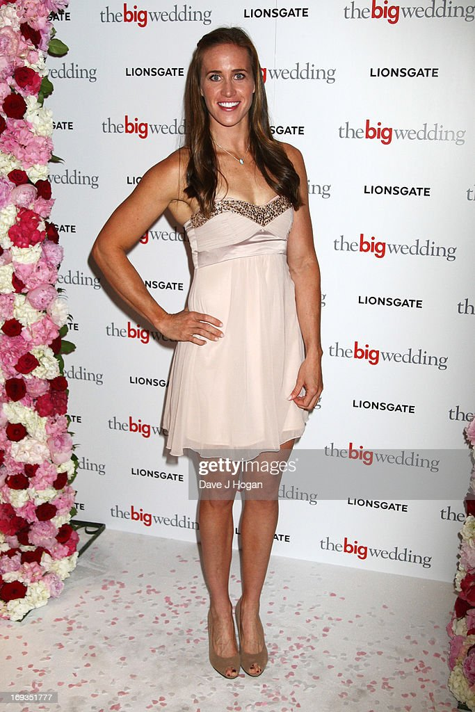 Helen Glover attends a special screening of 'The Big Wedding' at The Mayfair Hotel on May 23, 2013 in London, England.