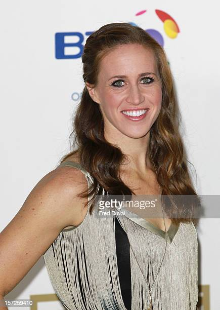 Helen Glover attends the British Olympic Ball on November 30 2012 in London England