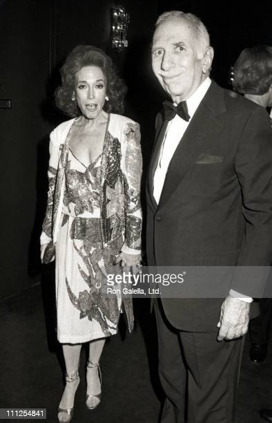 Helen Gurley Brown and David Brown during Gala Performance Celebrating 100 Years of Performing Arts at Metropolitan Opera in New York City, New York,...