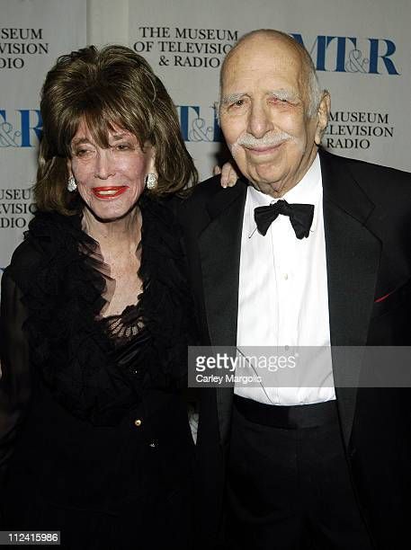 """Helen Gurley Brown and Henry Brown during The Museum of Television & Radio Honor Bob Wright and """"Saturday Night Live"""" at its Annual New York Gala at..."""