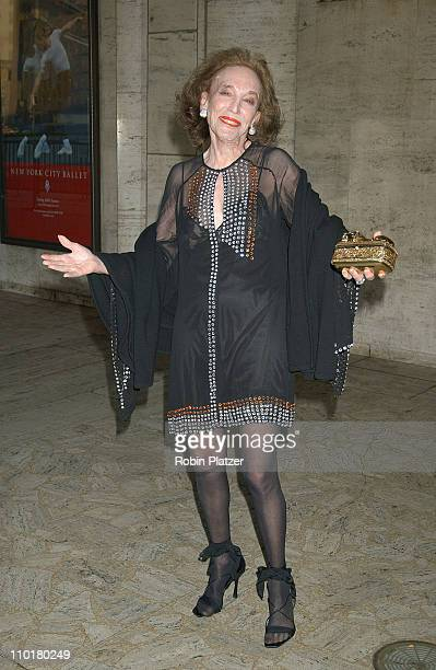 Helen Gurley Brown during Lincoln Center Spring Gala honoring Former Chairman Beverly Sills at Lincoln Center in New York, United States.