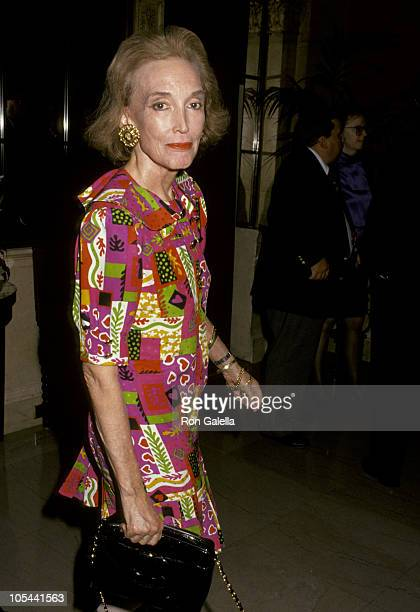 """Helen Gurley Brown during Party For Ivana Trump's Book """"Free To Love"""" at Le Cirque in New York City, New York, United States."""