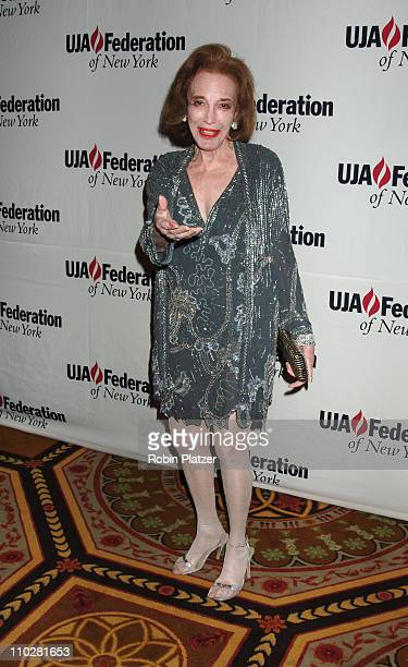 Helen Gurley Brown during The 10th Annual Steven J Ross Humanitarian Award by UJA Federation of New York Honoring Richard Parsons at The Waldorf...