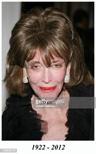 """Helen Gurley Brown during The Museum of Television and Radio Honors Bob Wright and """"Saturday Night Live"""" at Waldorf Astoria on February 2, 2006 in..."""