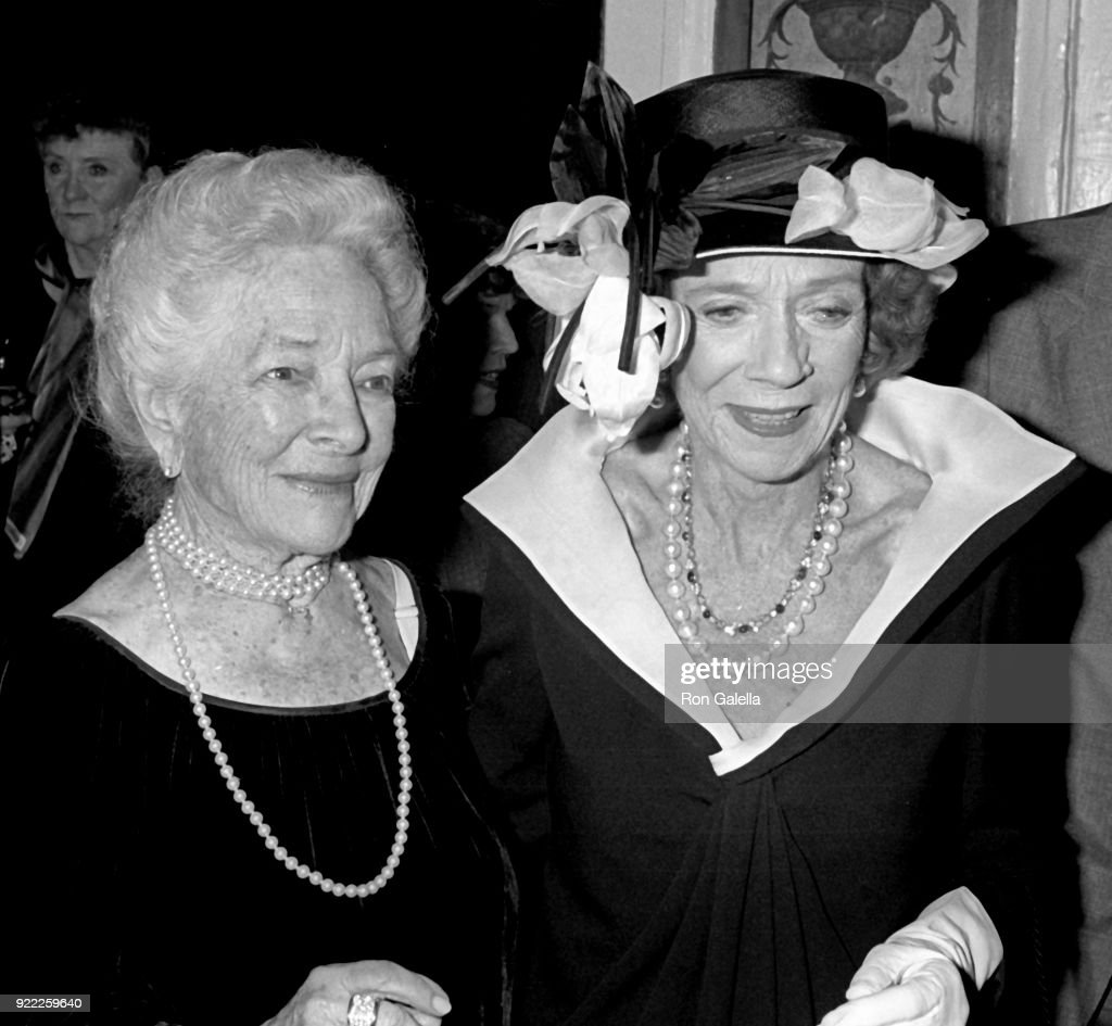 90th Birthday Party for Helen Hayes : News Photo