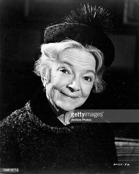 Helen Hayes in publicity portrait for the film 'Airport' 1970
