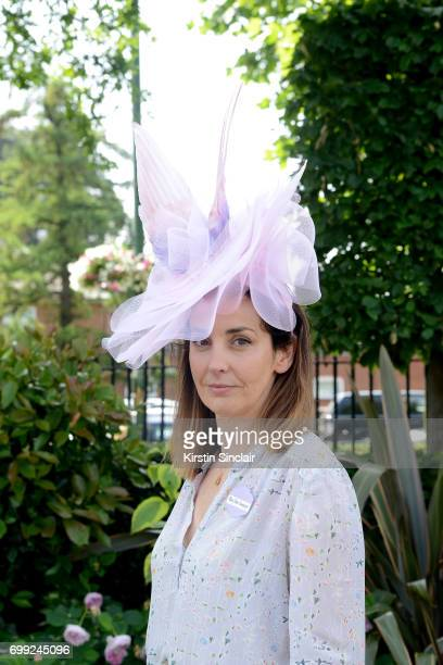 Helen Hunsperger attends day 2 of Royal Ascot at Ascot Racecourse on June 21 2017 in Ascot England