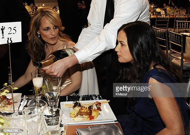 Helen Hunt and Demi Moore 12868_KM_0023JPG during TNT/TBS Broadcasts 13th Annual Screen Actors Guild Awards Backstage and Audience at Shrine...