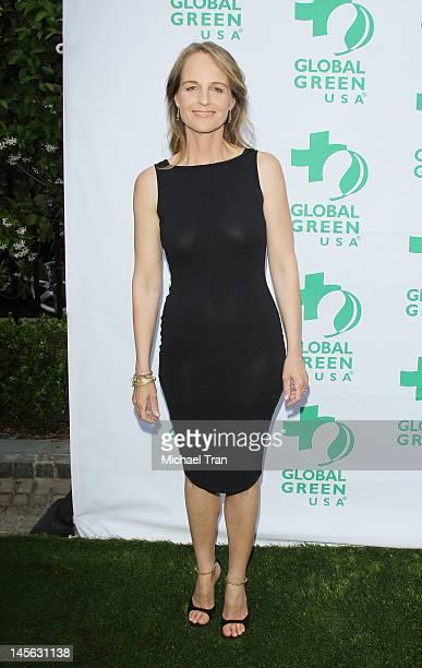 Helen Hunt arrives at Global Green USA 16th Annual Millennium Awards held at Fairmont Miramar Hotel on June 2 2012 in Santa Monica California