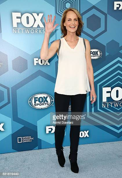 Helen Hunt attends FOX 2016 Upfront Arrivals at Wollman Rink Central Park on May 16 2016 in New York City