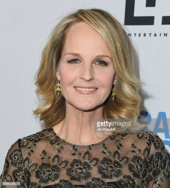 Helen Hunt attends Mirror And LD Entertainment Present The World Premiere Of The Miracle Season at The London West Hollywood on March 27 2018 in West...