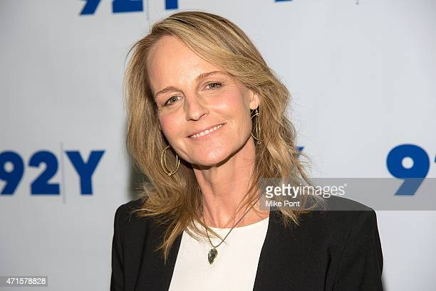 Helen Hunt attends the 92nd Street Y Reel Pieces screening of Ride with Helen Hunt at 92nd Street Y on April 29 2015 in New York City
