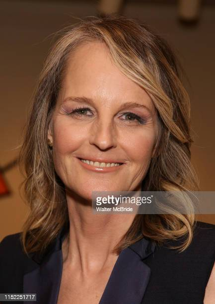 Helen Hunt attends the Opening Night performance afterparty for ENCORES OffCenter production of Working A Musical at New York City Center on June 26...