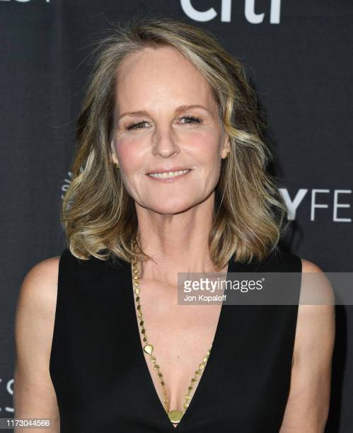 Helen Hunt attends The Paley Center For Media's 2019 PaleyFest Fall TV Previews Spectrum at The Paley Center for Media on September 07 2019 in...