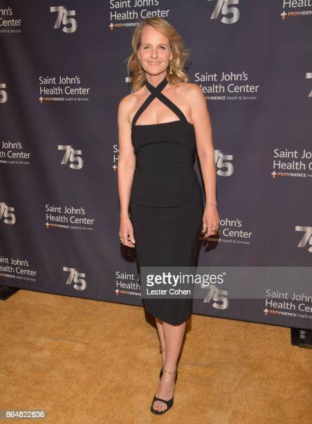 Helen Hunt attends the Saint John's Health Center 75th Anniversary Gala Celebration on October 21 2017 in Culver City California