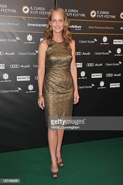 Helen Hunt attends The Sessions premiere as part of the Zurich Film Festival 2012 on September 21 2012 in Zurich Switzerland