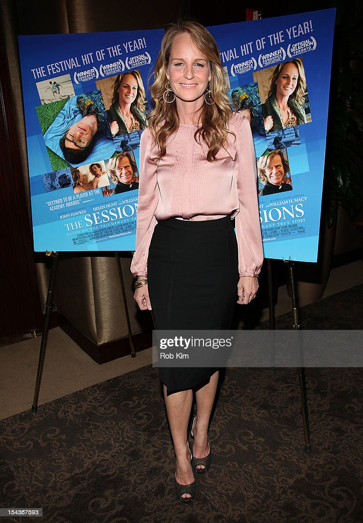 """The Sessions"" New York Screening : News Photo"