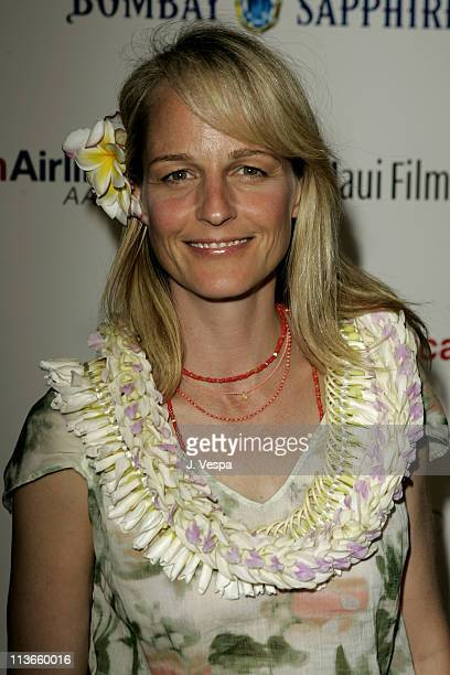 Helen Hunt during 2005 Maui Film Festival Tribute to Helen Hunt at Marriott Wailea in Maui Hawaii United States